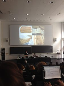 "Marco di Bella and Nikolas Sarris presentation,""The conservation of a 15th-century large parchment ms of Gädlä säma 'tat from the monastery of Ura Mäsqäl: Further conservation experiences from Easty Tigray, Ethiopia""."